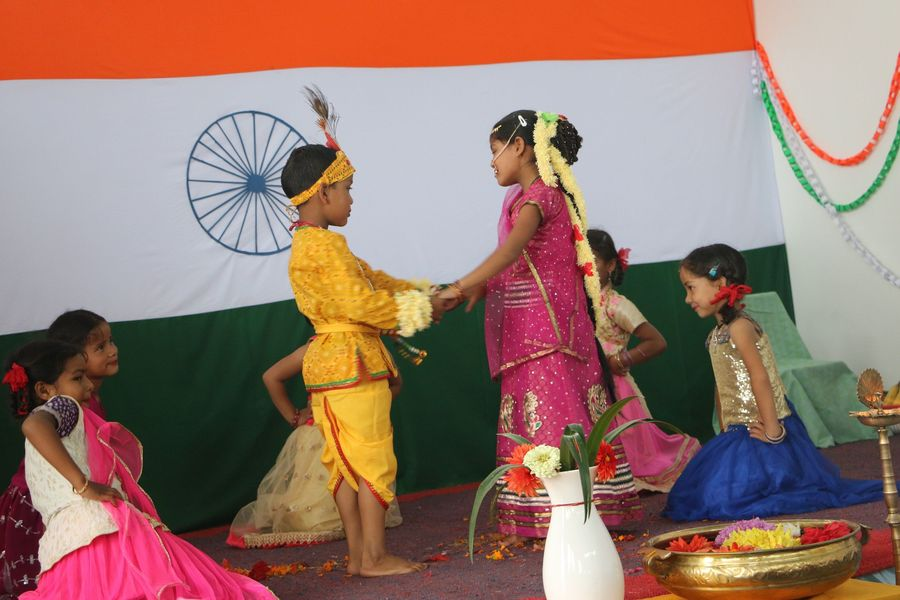 Independence Day in August - The School is Celebrating